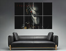 PREDATOR FACE MASK 02  Wall Poster Grand format A0  Print