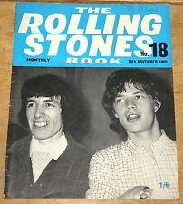 THE ROLLING STONES BOOK MONTHLY NUMBER 18 10TH NOVEMBER 1965 VINTAGE MAGAZINE