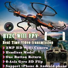 JJRC H12C Wifi FPV 2.4G 6Axis Gyro RC Quadcopter Drone HD Camera Real Time Video