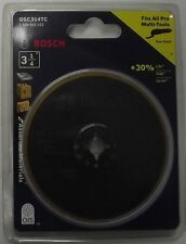 "Bosch OSC314TC 3-1/4"" Bi-Metal Titanium Circular Saw Blade for Multi-Tool S"