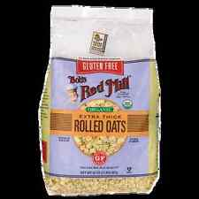 Bob's Red Mill Gluten Free Organic Thick Rolled Oats 32 oz (907 grams) Pkg