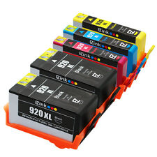 5PKs 920XL 920 XL High Yield Ink Cartridge For HP OfficeJet 6500a Plus 6500a