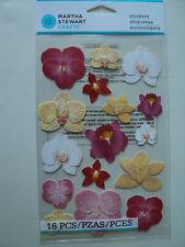 Martha Stewart Orquídea glosario Pegatinas BNIP * Para ver *