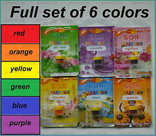 6 Colors Edible Food Paint Sugarcraft Cake Decorating Colouring- PRIORITY DELIV.