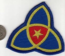Korea Army ROK 36th Homeland Infantry Division Patch Gold Star Infinity Flower