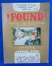 2004 FOUND by Davy Rothbart Finding Weird Stuff Photo Book Fireside 1st Ed VF+