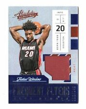JUSTISE WINSLOW NBA 2016-17 ABSOLUTE  FREQUENT FLYER MATERIALS (MIAMI HEAT)
