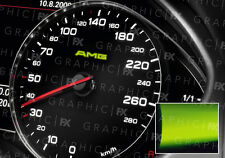 X8 Mercedes AMG Logotipo brillan en la oscuridad interior Speedo calcomanías de vinilo luminiscente