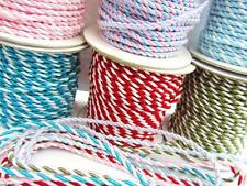 12 yard Color Nylon Twine Cord Trim 2 mm/Braid/Paper Craft/Scrapbooking T116-Mix