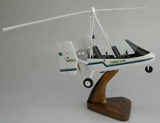 Farrington Twinstarr USA Gyroplane Helicopter Kiln Wood Model Replica Small New