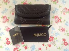 ⭐️MiMCO⭐️Black CORSET Leather Purse Wallet Bag⭐️
