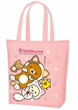 San-X Rilakkuma Cat Lawson Shopping Reusable Eco Thin Tote Bag Japan US Seller