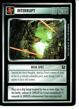 STAR TREK CCG FIRST CONTACT RARE CARD WEAK SPOT