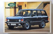 "AOSHIMA RV-10 1/24 Land Rover ""Range Rover"" scale model kit"