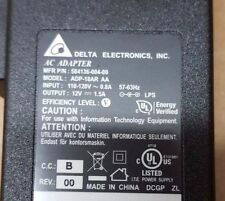 Delta AC Adapter Model ADP 18AR AA 12V 1.5A 18 W Arris