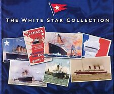 The White Star Collection: A Shipping Line in Postcards by Patrick Mylon (Hardba