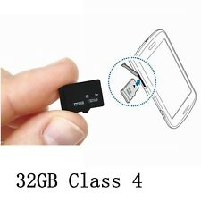 Micro SD TF Trans-Flash 32G 32GB Memory Cards Clas 4 For Phone Tablet Galaxy NEW