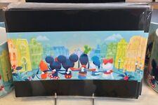 Disney WonderGround Mickey Mouse & Friends Main Street Postcard by Fenway Fan
