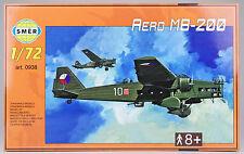 SMER Aero mb-200 checo bombarderos, avión, kit 1:72