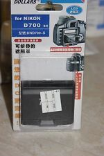 NIKON D700 DSLR CAMERA LCD HOOD AND SCREEN PROTECTOR BNIB