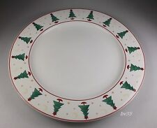 "SAKURA MAGIC OF SANTA DINNER PLATES  10 7/8"" - SET OF 2 PLATES"