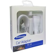 BRAND NEW OEM SAMSUNG GALAXY ADAPTIVE FAST CAR CHARGER FOR NOTE 5 S6 S7 EDGE +