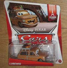 New Disney Cars LUBEWIG France 1:55 scale diecast bdx14