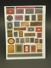 Reality In Scale 35069 small carpets on real cloth 1:35 scale diorama accessory