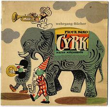 Kinderbuch: Baro: Cyrk, Circus-Bilderbuch, Polen, 1957