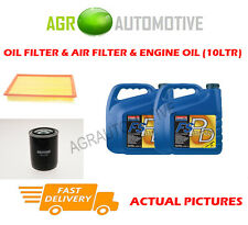 PETROL OIL AIR FILTER + FS PD 5W40 FOR LAND ROVER DISCOVERY 4.0 185 BHP 1994-98