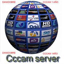 3 server linea CCcam  1 año,ENVIOS EL MISMO DIA!!!  todos decos,engel,iris,qviar