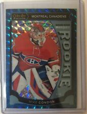 2015-16 O-Pee-Chee Platinum Mike Condon /75 Rookie Blue Cubes 15/16