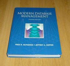 Modern Database Management by Fred R. McFadden, Jeffrey A. Hoffer (Hardback,...