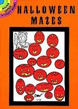 Dover Little Activity Bks.: Halloween Mazes by Suzanne Ross (1998, Paperback)