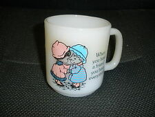 Glasbake Mug When you have a friend you have everything