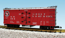 USA Trains G Scale 15018 Outside Braced Reefer Great Northern