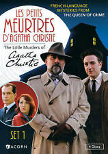 LES PETITS MEUTRES D'AGATHA CHRISTIE SET 1 FRENCH LANGUAGE DVD
