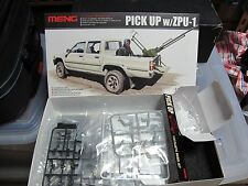 Toyota Hilux Armed pickup truck with gun 1/35 model car kit free ship