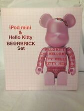 New RARE Hello Kitty Be@rbrick 400% 10% iPod Mini Set Medicom Sanrio Bearbrick