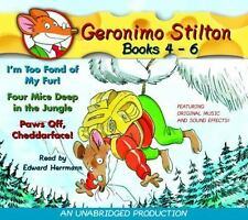 Geronimo Stilton: Books 4-6: #4: I'm Too Fond of My Fur; #5: Four Mice Deep in t