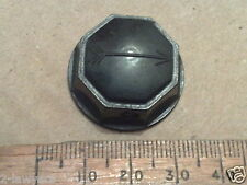1pc VINTAGE BLACK BAKELITE VALVE WIRELESS RADIO HIFI TV EQUIPMENT KNOB (Lot 80)