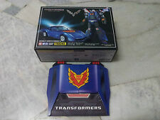 Transformers Masterpiece MP-25 Track Chevrolet Corvette with Coin Takara MISB