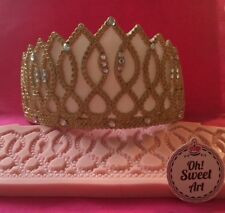 Crown Queen, Tiara, diadem Silicone Mold Food Safe decoration Cake Cupcake FDA