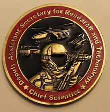 Assistant Secretary for Research &Technology Chief Scientist Army Challenge Coin