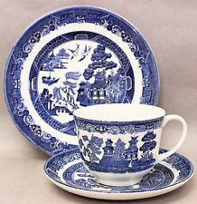 Johnson Bros. Blue Willow Trio Contemporary English China