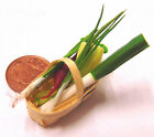6 Mixed Vegetable In A Basket Dolls House Miniature Vegetable Punnet Accessory L