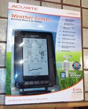 Acurite Pro Digital Weather Center Forecast Temp Humidity Wind 00634 NEW