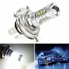 2 X H4 9003 HB2 HID White 80W CREE LED Bulbs Car Fog DRL Driving Light Headlight