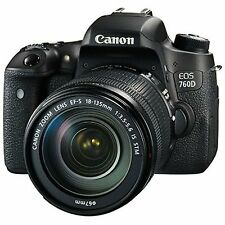 Canon EOS 760D Kit with EF-S 18-135mm IS STM Lens