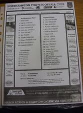 26/07/2014 Teamsheet: Northampton Town v Leyton Orient [Friendly].  We are pleas